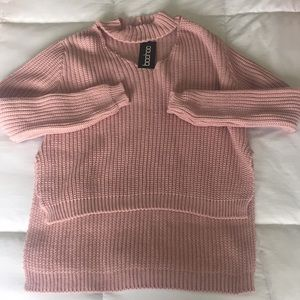 Sweaters - Choker neck sweater